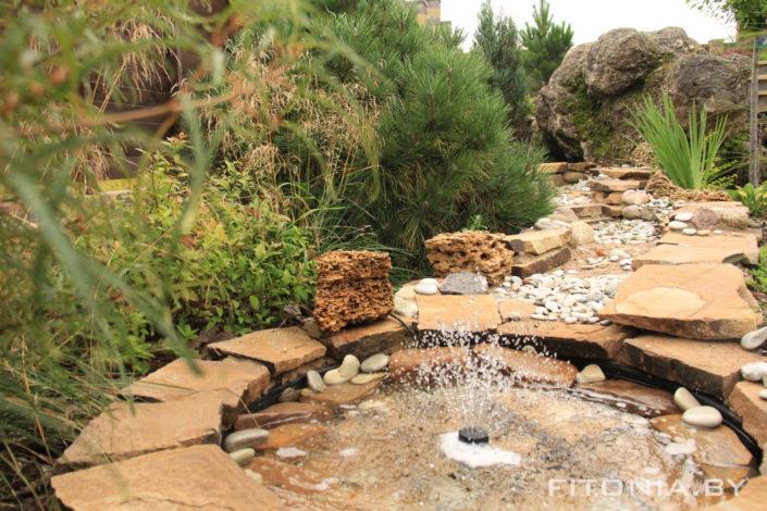 фонтан дача